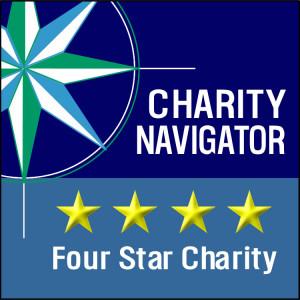 charity navigator four-star logo
